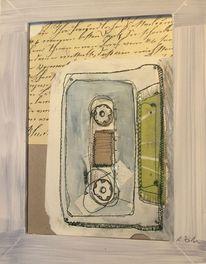 Kassette, Tonspur, Halfbird, Zeichnung