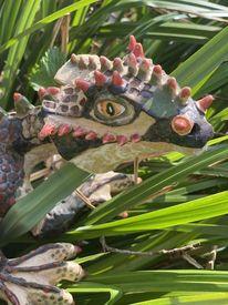 Drachenliebhaber, Gartenschmuck, Drache, Schutzdrache