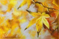 Blätter, Gelb, Laub, Herbst