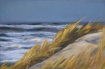 Küste, Dünen, Strand, Meer