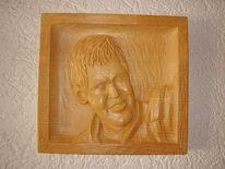 Relief, Portrait, Kunsthandwerk