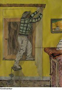 Sammlung, Acrylmalerei, Zeichnen, Farben