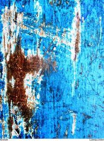 Braun, Mischtechnik, Farben, Abstrakt