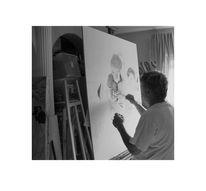 Menschen, Atelier, Landschaft, Malerei