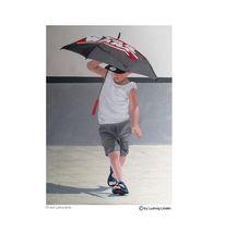 Schirm, Farben, Spielen, Hyperrealismus