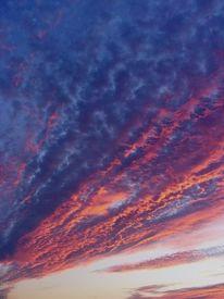 Wolken, Blau, Wolkenschön, Fotografie