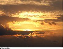 Sonne, Wölkenschön, Licht, Wolken