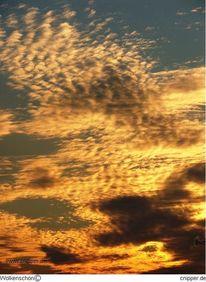 Wolken, Sonne, Wolkenschön, Blitz