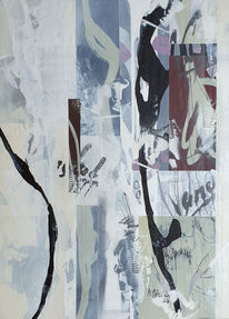 Linie, Schrift, Abstrakte malerei, Malerei