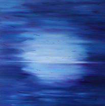 Meer, Seelandschaft, Seele, Malerei