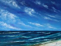 See, Meer seelandschaft, Malerei, Gemälde