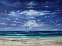 Sehnsucht, Seelandschaft, Meer, Malerei