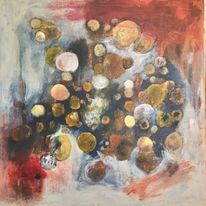 Abstrakt, Freude, Bubbles, Malerei