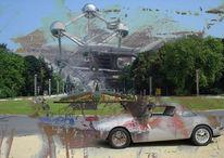 Collage, Digital, Digitale kunst, 2015