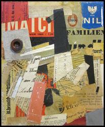 Collage, Mischtechnik, 2015