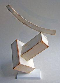 Objekt, 2017, Holz, Plastik