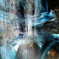 Schatten, Malerei, Abstrakt, Energie