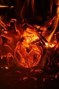 Feuer, Ofen, Flammen, Hitze