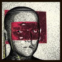 Muster, Gespräch, Schwarz, Figur