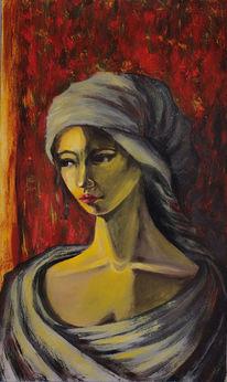 Orient, Licht, Schatten, Woman portrait
