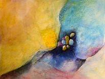 Gouachemalerei, Pastellmalerei, Erosion, Malerei