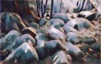 Felsenlabyrinth, Granit, Wassergemurmel, Märchen