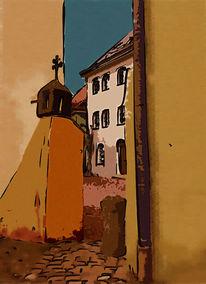 Digitale kunst, Altstadt, Weiden