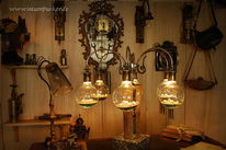 Schlesier, Outfit, Lampe, Steampunk