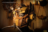 Steampunk, Clockworker, Maske, Schlesier