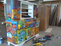 房间陈设, Wand, Möbel, Kunsthandwerk