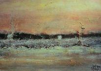 Horizont, Erinnerung, Abstrakt, Abstrakte landschaft
