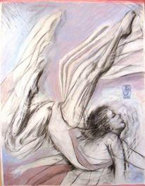 Pastellmalerei, Ausdruck, Bewegung, Emotion