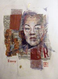 Stern, Collage, Ausdruck, Malerei