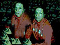Digital, Zweimalich, Rot, Fotografie