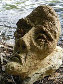 Blick, Gesicht, Fluss, 2013