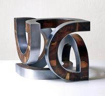 Stahl, Skulptur, Holz, Schwingung