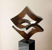 Bewegung, Dynamische skulptur, Entfaltung, Dimension