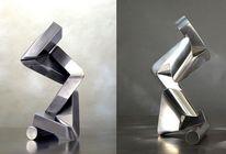 Konstruktion, Skulptur, Bewegung, Dynamik
