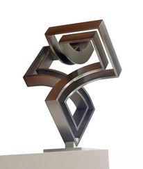 Stahlskulptur, Bewegung, Schwingung, Stahlkonstruktion
