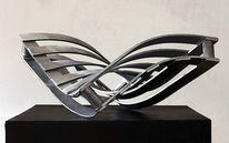 Drehung, Skulptur, Dynamik, Entfaltung