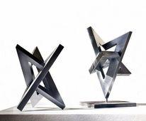 Bewegung, Skulptur, Stahlskulptur, Konstruktion