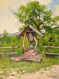 Kapelle sommer mięćmierz, Malerei, Kapelle