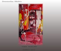 Dunkelforth, Zeitgenössisch, Expressionismus, Modern