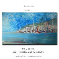Boot, Malerei, Acrylmalerei, Modern