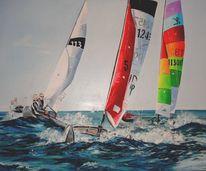 Segel, Farben, Malerei