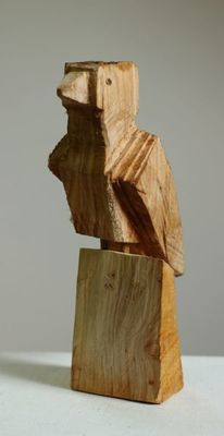 Skulptur, Vogel, Holz, Wooden birds