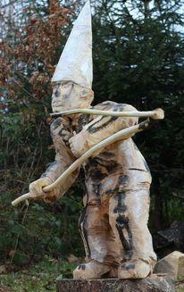 Skulptur, Holz, Modern, Kunsthandwerk