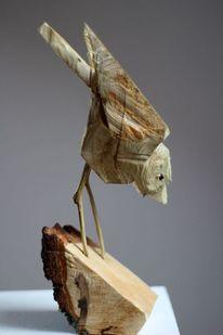 Vogel, Figurativ, Figurative kunst, Holz