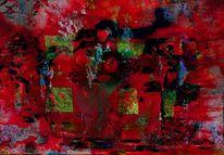 Zerstörung, Erwachen, Albtraum, Digitale kunst