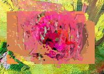 Digitale bearbeitung, Collage, Bildbearbeitung, Stillleben